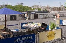 Hellmann's hosts BBQ for those who can't at home