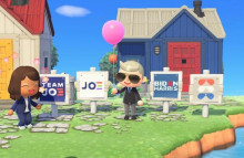 Biden yard signs let 'Animal Crossing' users play politics
