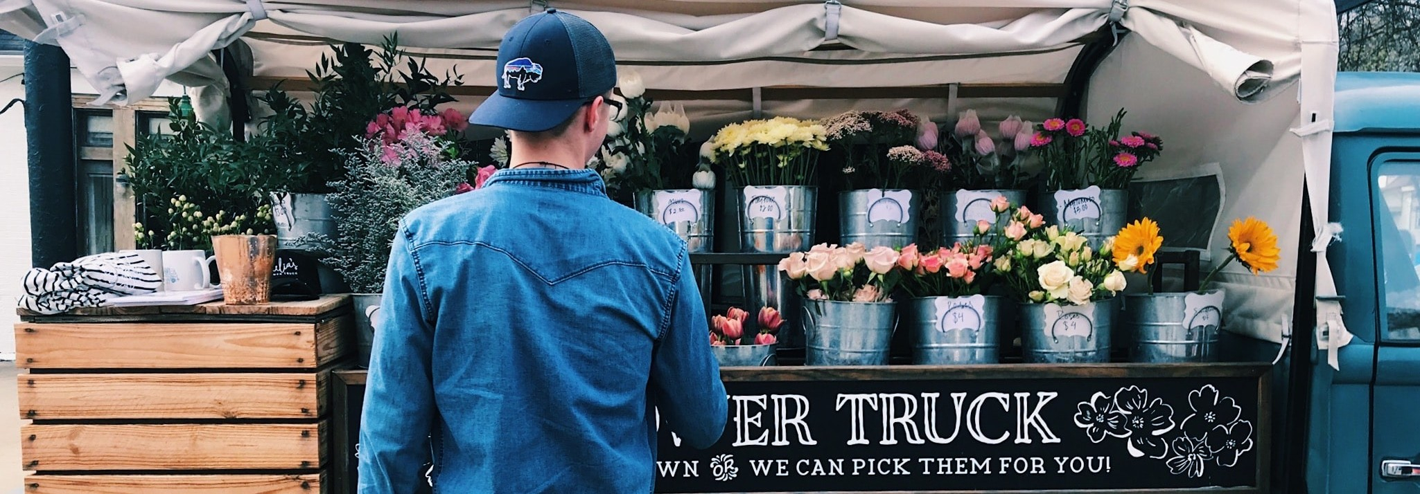 Flower sales boom as people try to brighten the mood