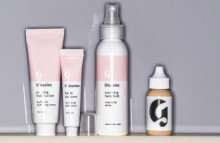 Glossier beauty products for blog fans