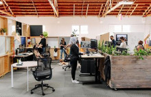 Google's flexible workspaces ease people into the office