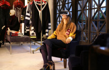 Tommy Hilfiger offers customers v-commerce
