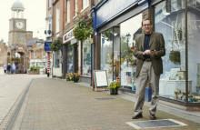 UK's first smart WiFi pavement